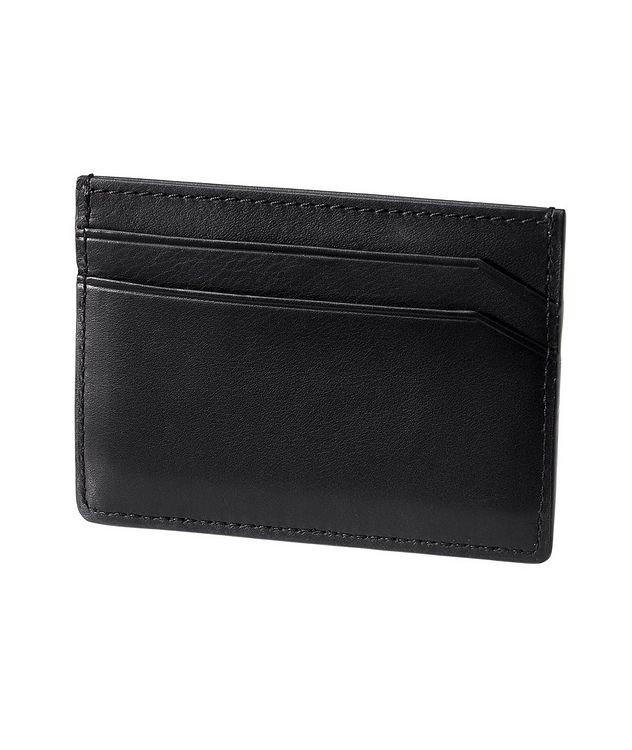 Embossed Leather Card Holder picture 2