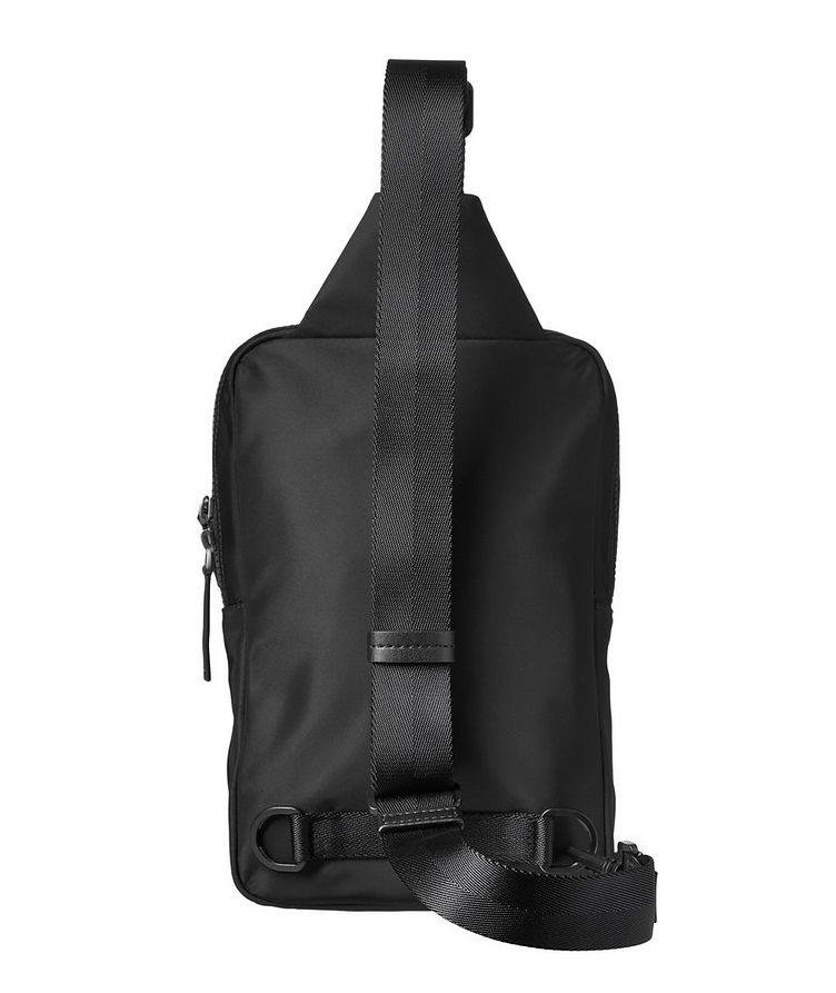 Record Monostrap Nylon Cross Body Bag image 1
