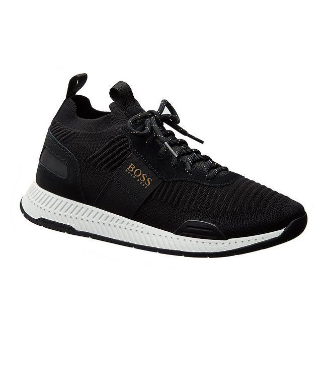 Titanium Knit Sneakers picture 1