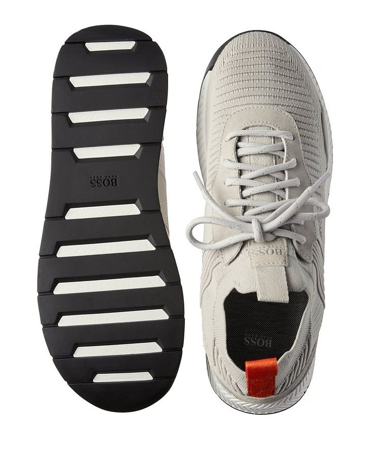 Titanium Knit Sneakers image 2