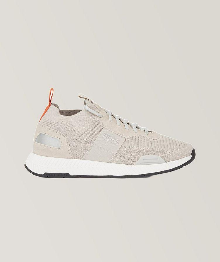 Titanium Knit Sneakers image 0