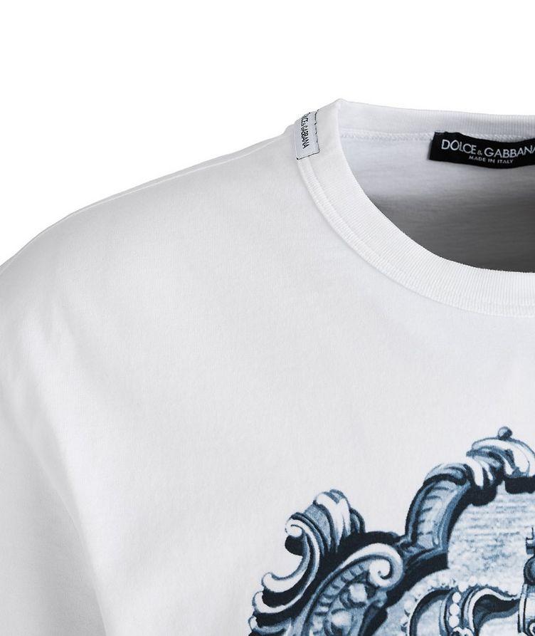 T-shirt imprimé en coton image 1