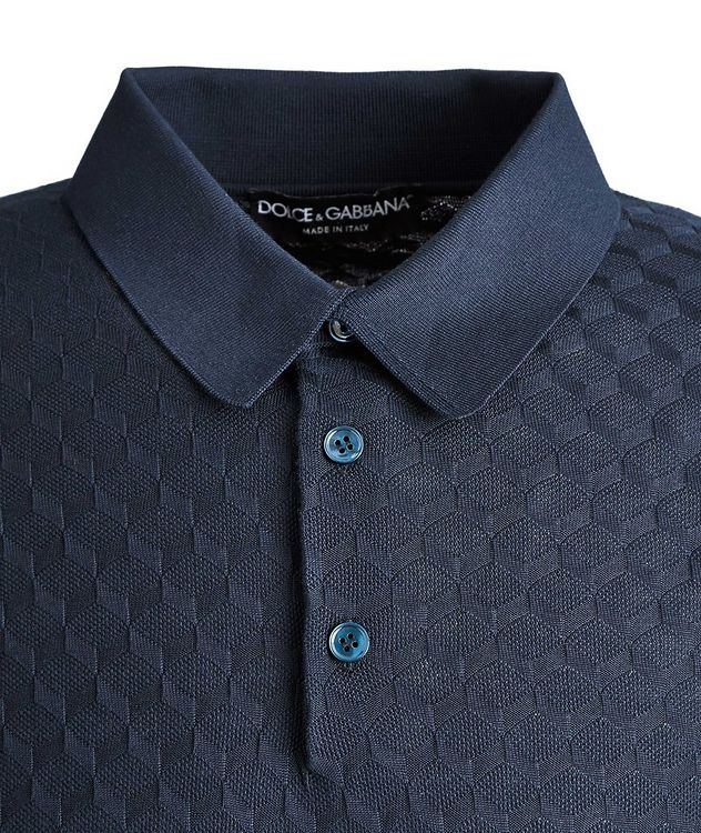 Silk Jacquard Polo picture 2