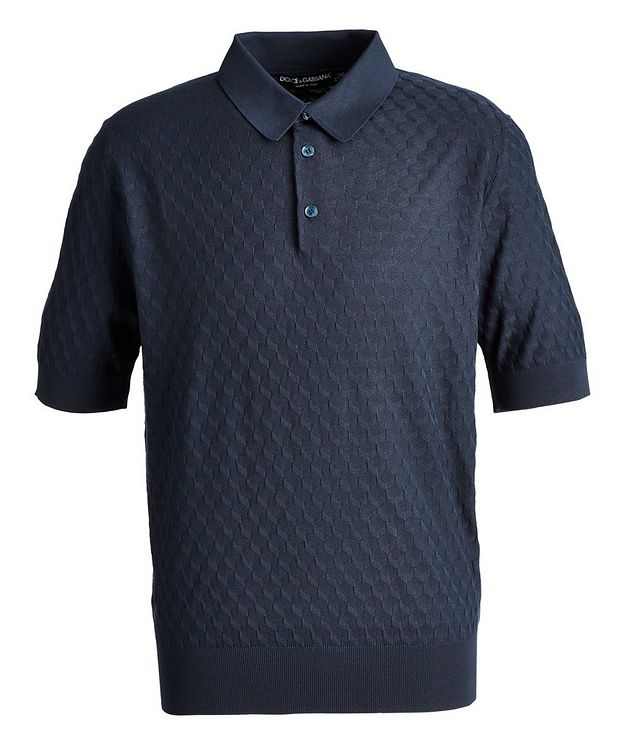 Silk Jacquard Polo picture 1