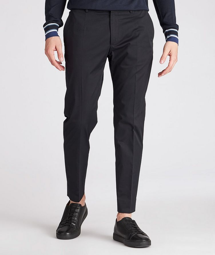 Stretch-Cotton Pants image 1