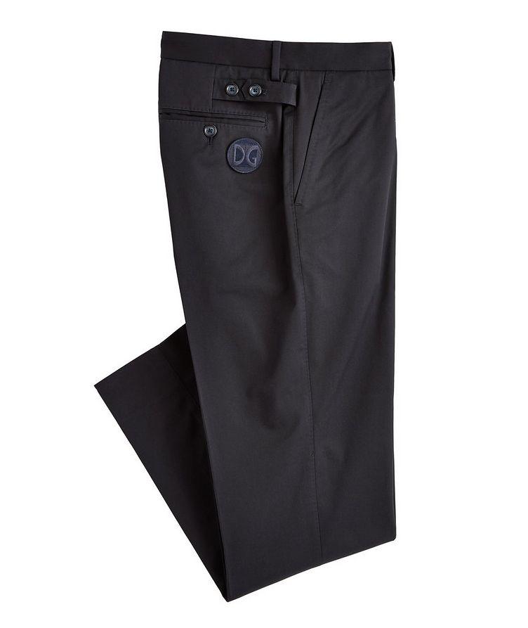 Stretch-Cotton Pants image 0