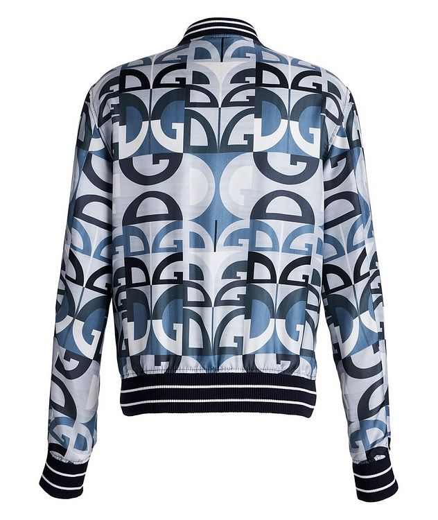 Silk Printed Bomber Jacket picture 2