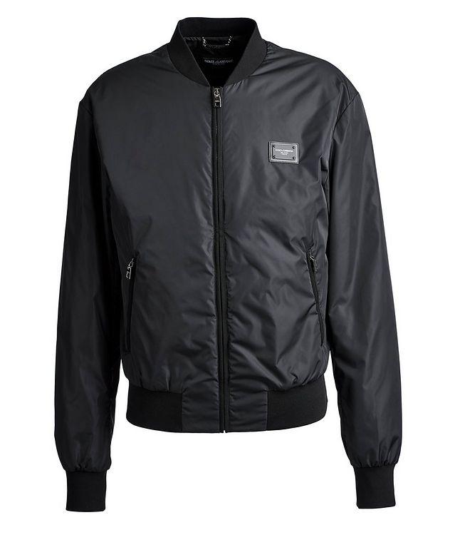 Nylon Bomber Jacket picture 1