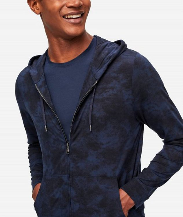 London 4 Stretch-Micromodal Hoodie picture 2