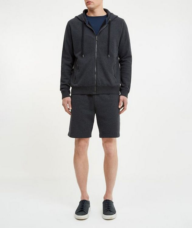 Devon Cotton Sweat Shorts picture 4