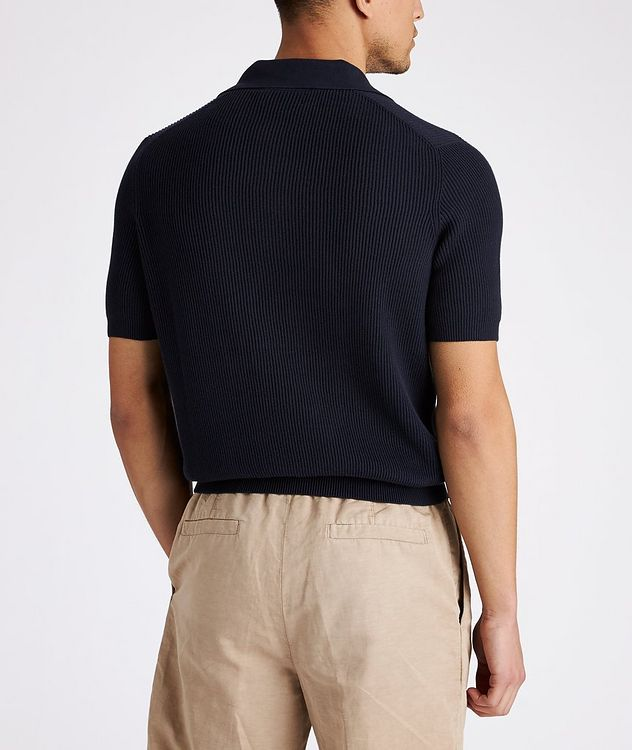 Ribbed Knit Polo picture 3