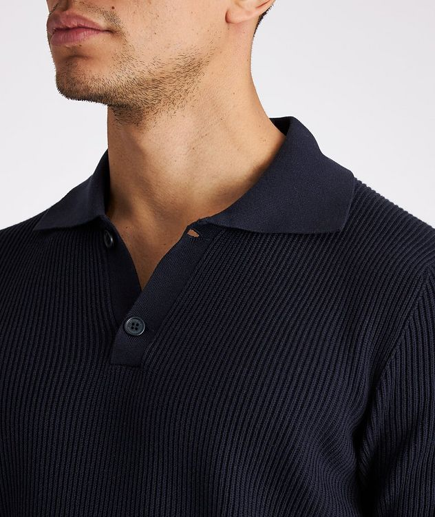 Ribbed Knit Polo picture 4