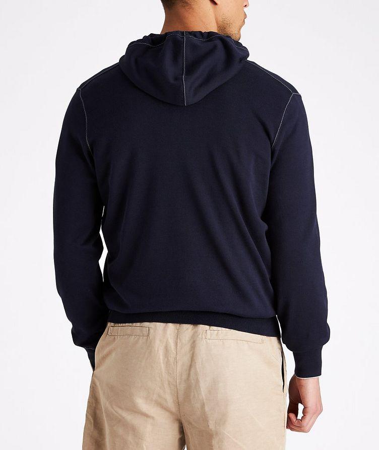 Zip-Up Cotton Hoodie image 2