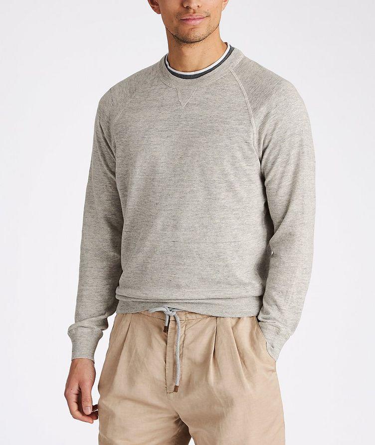 Linen-Cotton Sweatshirt image 1