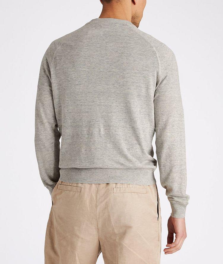 Linen-Cotton Sweatshirt image 2