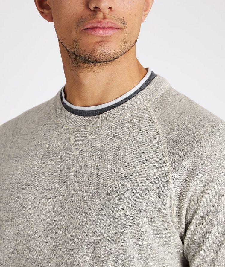 Linen-Cotton Sweatshirt image 3