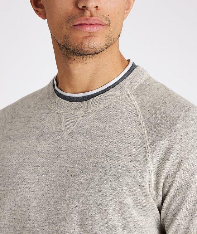 Linen-Cotton Sweatshirt picture 4