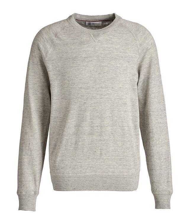 Linen-Cotton Sweatshirt picture 1