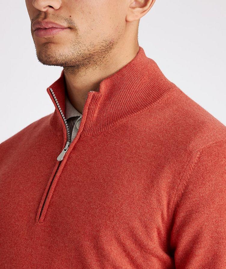 Half-Zip Cashmere Sweater image 3