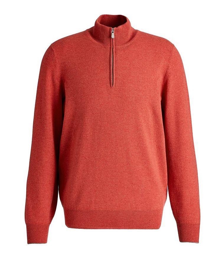 Half-Zip Cashmere Sweater image 0