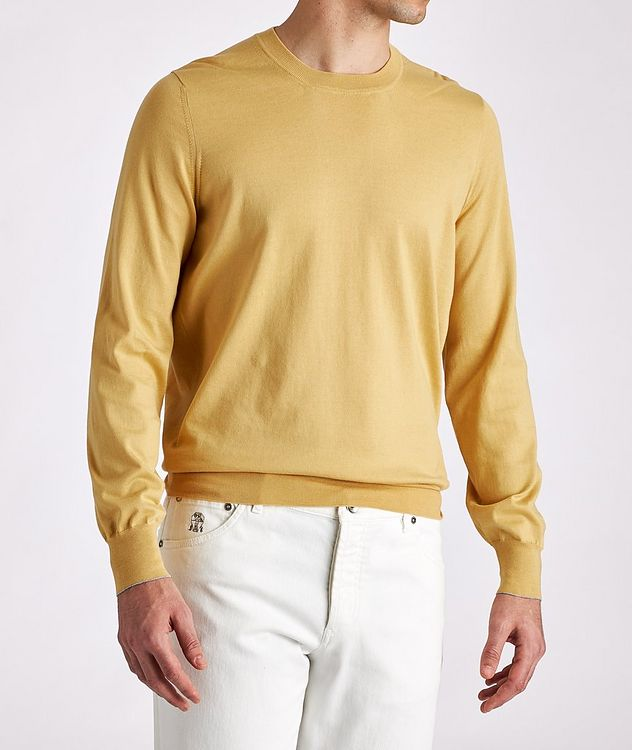 Knit Cotton Sweater picture 2