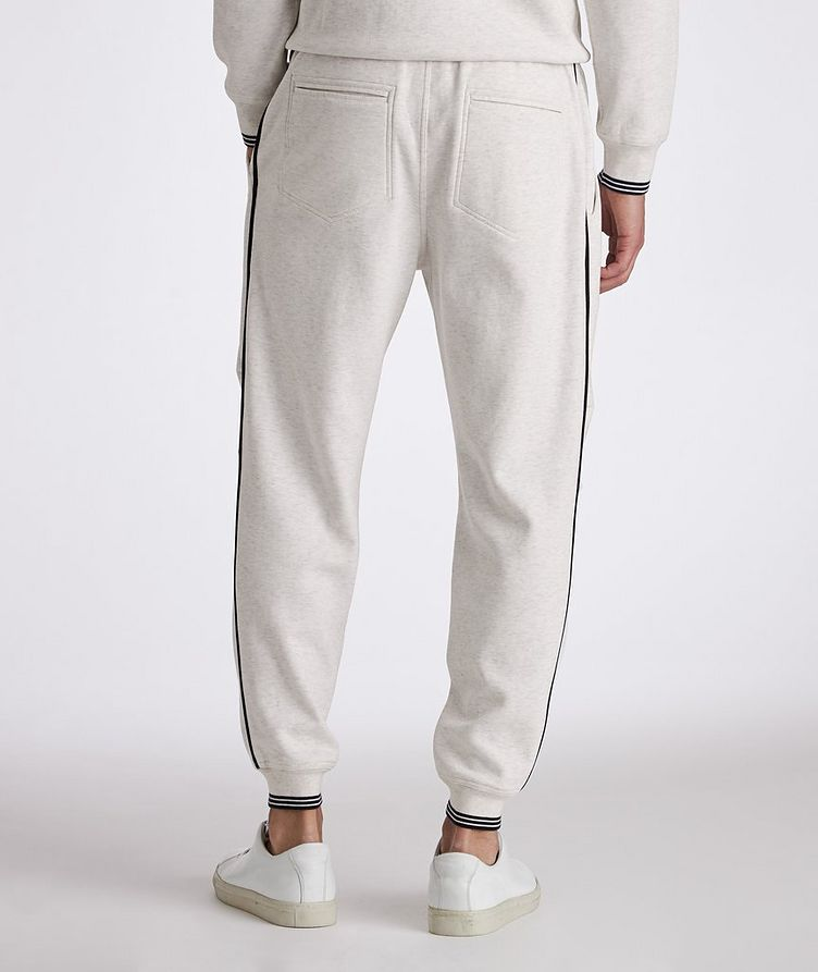 Cotton-Blend Pleated Drawstring Joggers image 2