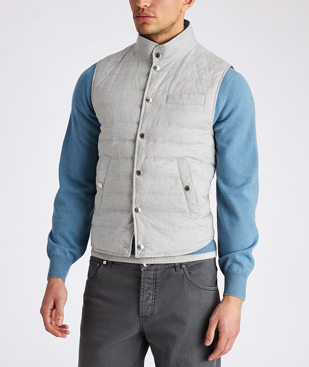 Quilted Down Vest picture 2