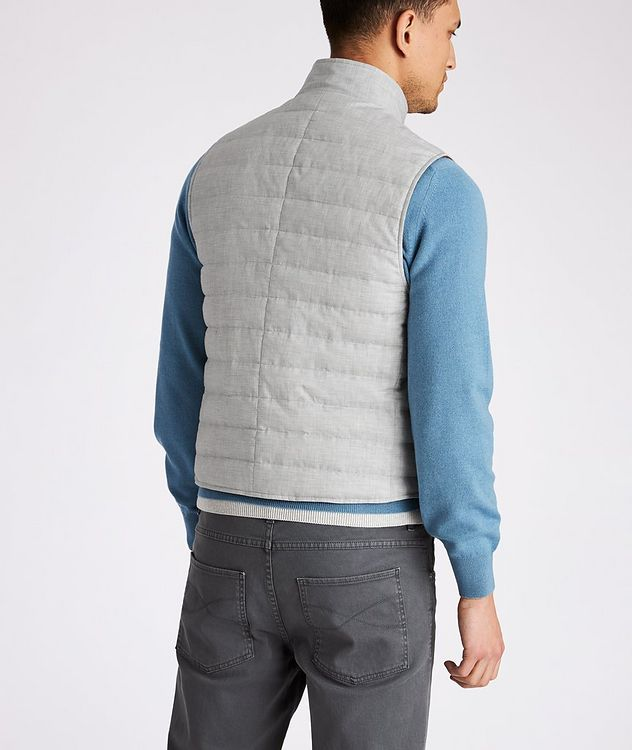 Quilted Down Vest picture 3
