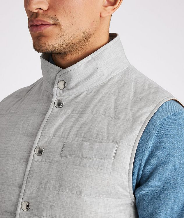 Quilted Down Vest picture 4