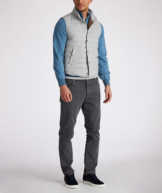 Quilted Down Vest picture 5
