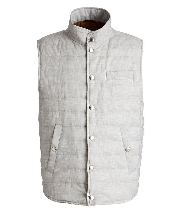 Quilted Down Vest picture 1
