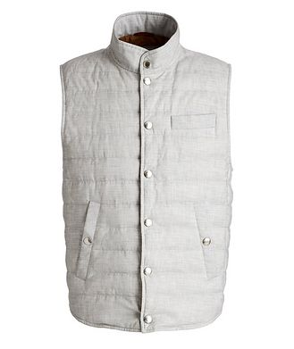 Brunello Cucinelli Quilted Down Vest