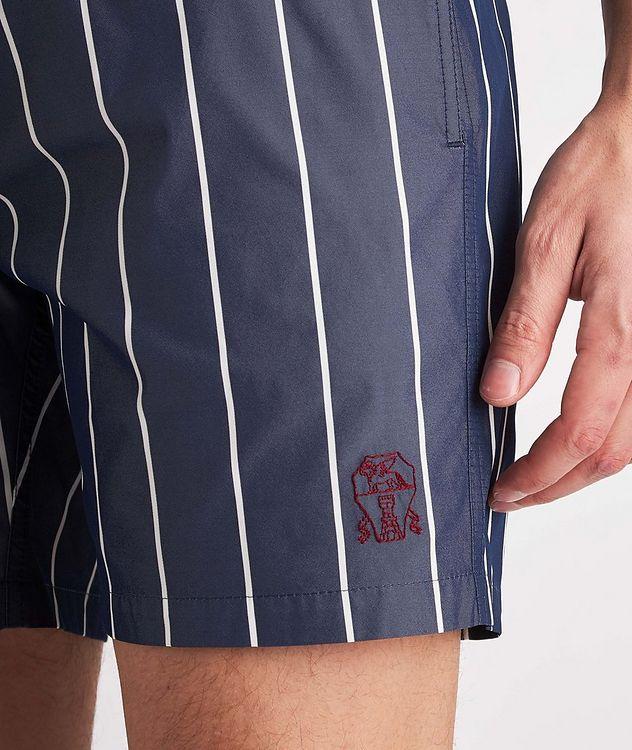 Striped Swim Trunks picture 4