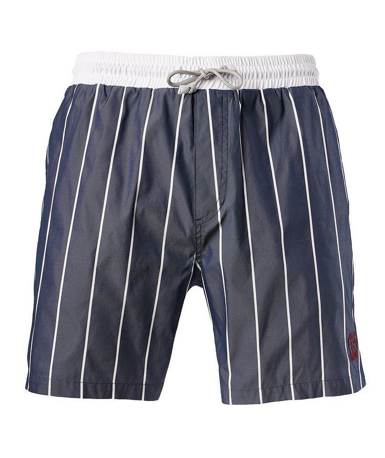 Striped Swim Trunks image 0
