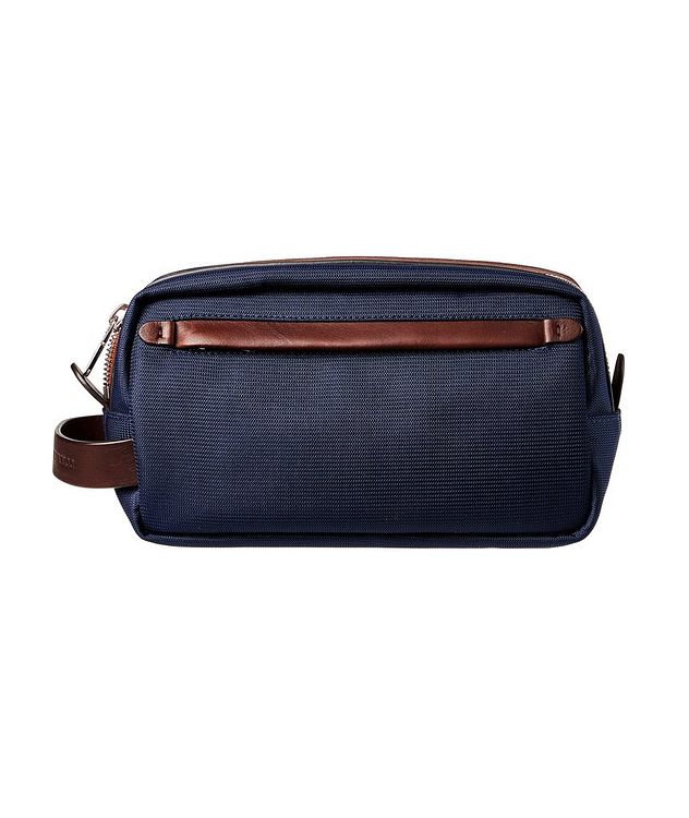 Nylon and Leather Dopp Kit picture 2