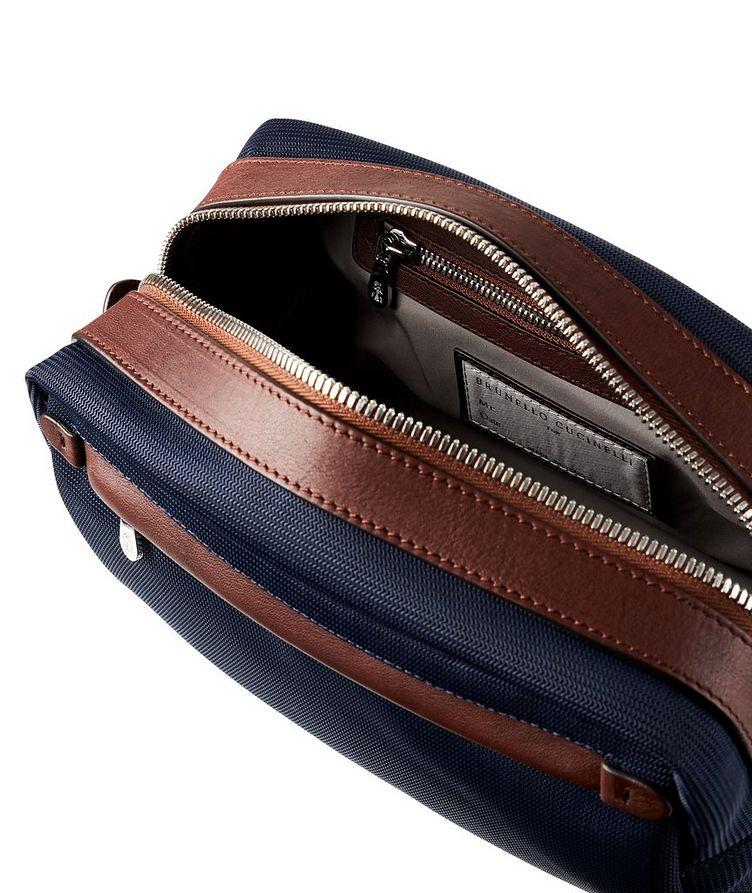 Nylon and Leather Dopp Kit image 3