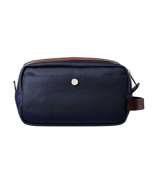 Nylon and Leather Dopp Kit picture 1