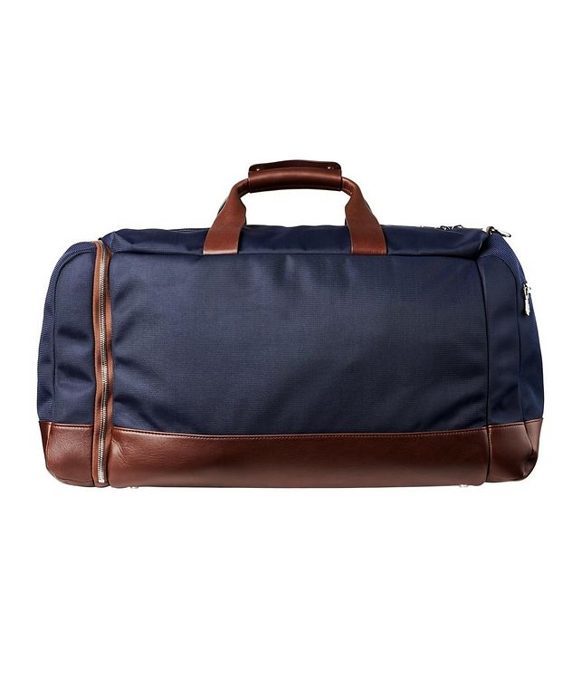 Nylon and Leather Duffel Bag picture 2