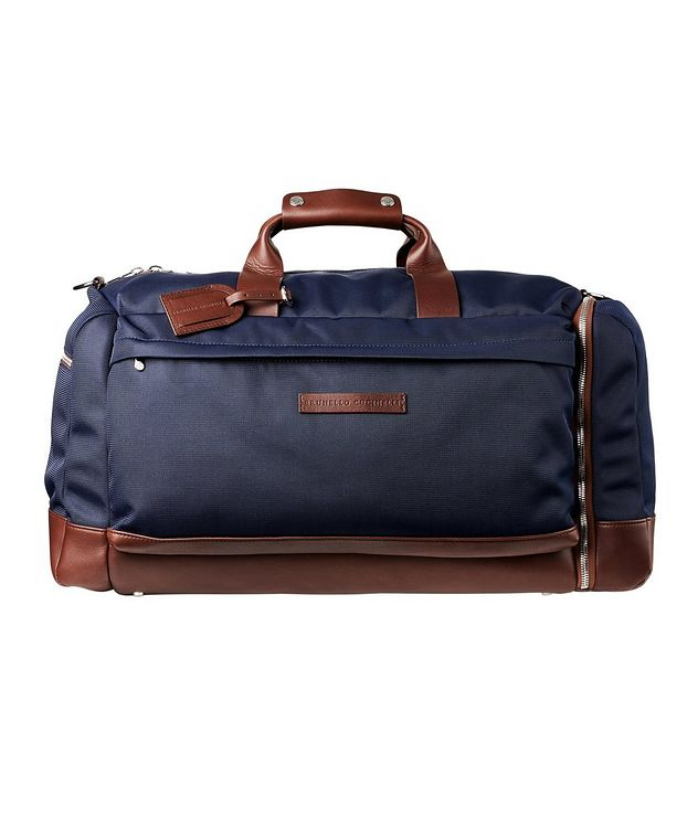 Nylon and Leather Duffel Bag picture 1