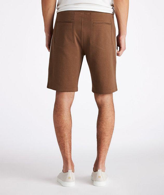 Cotton-Blend Drawstring Shorts picture 3