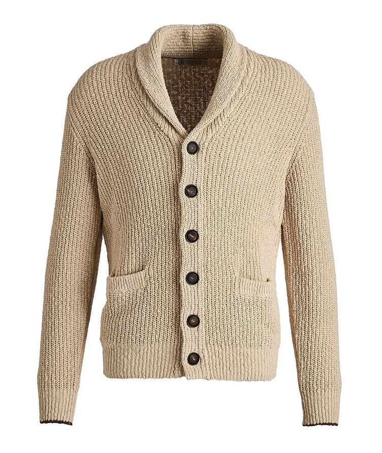 Cotton-Linen Cardigan image 0