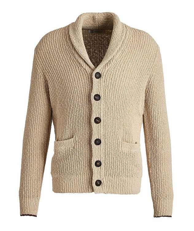 Cotton-Linen Cardigan picture 1
