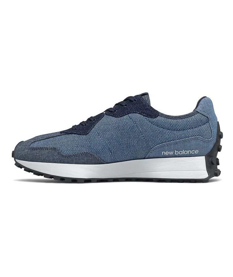 327 Suede and Mesh Sneakers image 1