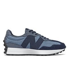 New Balance 327 Suede and Mesh Sneakers