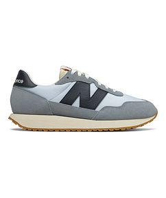 New Balance 237 Suede, Nylon, and Mesh Sneakers