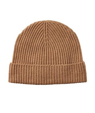 Johnstons of Elgin Ribbed Cashmere Toque