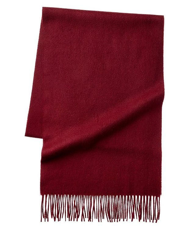Fringed Cashmere Scarf picture 2