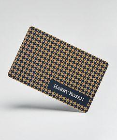 Harry Rosen Carte-cadeau de 2,500 $