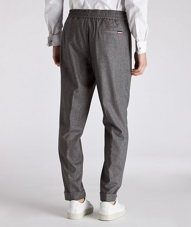 Drawstring Wool Pants picture 2