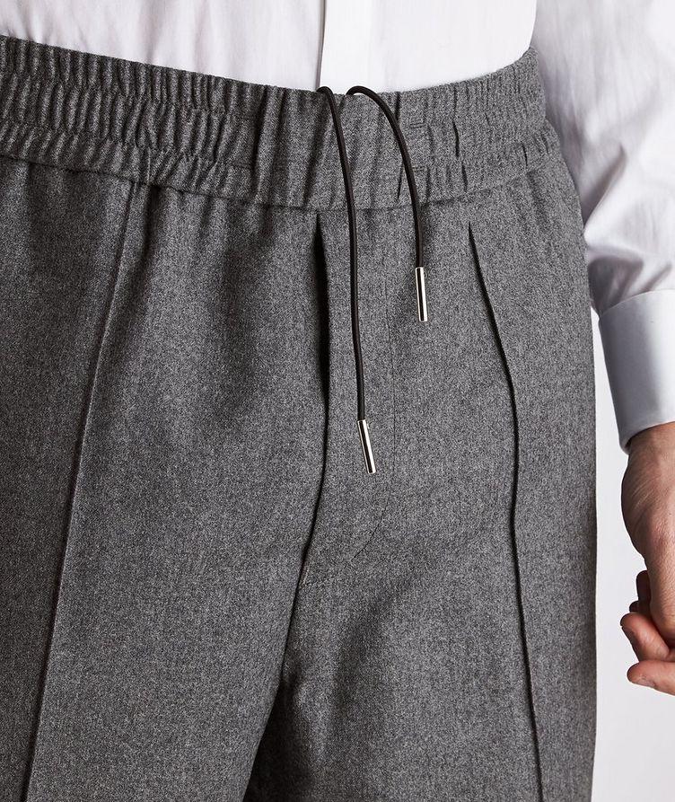 Drawstring Wool Pants image 2